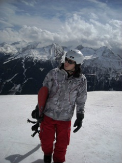 Snowboarder - Angertal